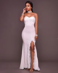 lady formal dress women clothes lady clothes party dress wedding dress white s