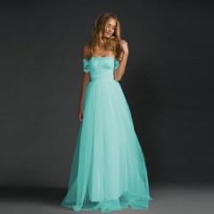 Women clothes lady dress girl dress fashionable dress party dress light blue 3xl
