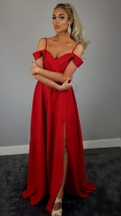 women dress lady clothes party dress wedding dress girl dress sexy fashionable dress red s