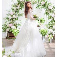 New Fashionable Off Shoulder Wedding Dress Goddess Stylish Tailored Dress white l