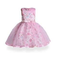 Fashion flower girl dress for wedding children formal party dress for Christmas and New Year pink 100#