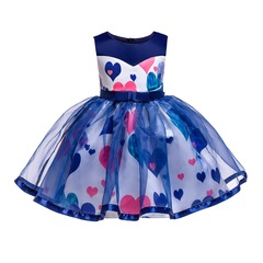 Fashion flower girl dress for wedding children formal party dress for Christmas and New Year blue 150#