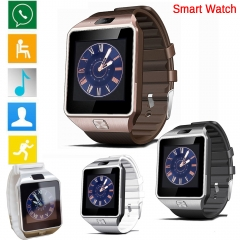 Smart Watch Clock With Sim Card Slot Push Bluetooth Connectivity Android Phone DZ09 Men Smartwatch