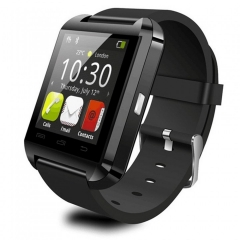 U8 Smartwatch Bluetooth Watch Passometer Touch Screen Answer and Dial the Phone black