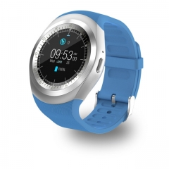 Newest Bluetooth Smart Watch Relogio Android Smartwatch Phone Call SIM TF Camera Blue one size blue