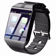 Bluetooth Smart Watch DZ09 Relojes Smartwatch Relogios Camera for IOS iPhone Samsung Android Phone black