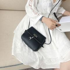 Women Messenger Bags High Quality Cross Body Bag PU Leather Mini Female Shoulder Bag Handbags black 20×15×7