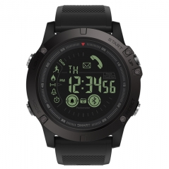 Flagship Rugged Smartwatch 33-month Standby Time 24h All-Weather Monitoring Smart Watch black