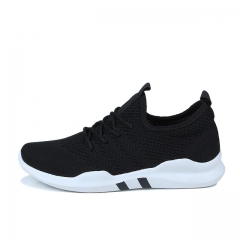 Hot brand Men shoes Lightweight sneakers Breathable Slip-on Casual Shoes For adult Fashion Footwear black 39