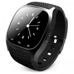 Bluetooth Smart Watch wristwatch smartwatch SMS Remind Music Player Pedometer for Smartphone black black