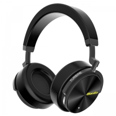T5 Active Noise Cancelling Wireless Bluetooth Headphones Portable Headset with microphone black