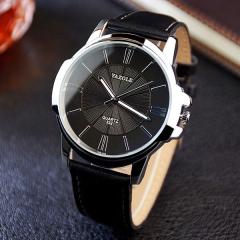 Fashion Quartz Watch Men Watches Top Brand Luxury Male Clock Business Mens Wrist Watch black
