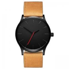 NEW Luxury Brand Men Sport Watches Men's Quartz Clock Man Army Military Leather Wrist Watch 1