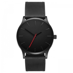 NEW Luxury Brand Men Sport Watches Men's Quartz Clock Man Army Military Leather Wrist Watch 2