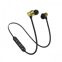 Wireless Headphone Bluetooth Earphone Sport Headset Fone de ouvido For iPhone Samsung Xiaomi gold
