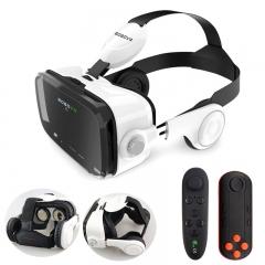 Original Z4 Leather 3D Cardboard Helmet Virtual Reality VR Glasses Headset Stereo Box BOBO VR