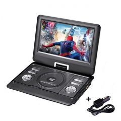 10.1 inch Swivel DVD Player DIVX USB Portable TV Portatil DVD Player TV Car Charger RCA with Battery
