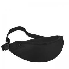 Fanny Pack for Women Men Waist Bag Colorful Unisex Waistbag Belt Bag Zipper Pouch Packs 110cm Belt black one size