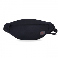 Men Casual Fanny Bag Waist Bag Money Phone Belt Bag Pouch Gray Hip Bag waterproof Shoulder belt pack black one size