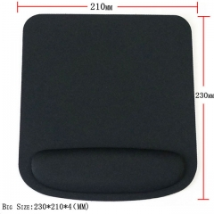 Optical Trackball PC Thicken Mouse Pad Support Wrist Comfort Mouse Pad Mat Mice 3 CS Mousepad black 180mm*230mm