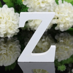 1 PCS Home Decoration Wood Wooden Letter Alphabet Word Free Standing Wedding Part Birthday Z one size