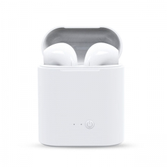 Mini Wireless Bluetooth Earphone Stereo Earbud Headset With Charging Box Mic For All Smart phone white