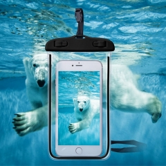 Universal Cover Waterproof Phone Case For iPhone 7 6S Coque Pouch Waterproof Bag Case For Samsung black YY-102 1 1