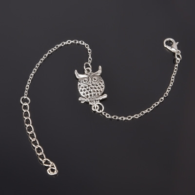 Simple Style Silver Plated Charm Bracelet Jewelry Gift Wedding Banquet Wholesale Top Quality 1 D2