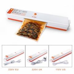 Household Food Vacuum Sealer Packaging Machine 110V 220V Film Sealer Vacuum Packer orange 220V EU Plug