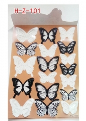 Crystal Butterfly Wall Sticker Art Decal Home decor for Stickers Decals Christmas Wedding Decoration 1 HZ