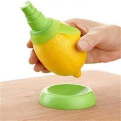 Kitchen Gadgets Lemon Sprayer Fresh Fruit Juice Orange Juice Squeeze de Kitchen Cooking Tools green a