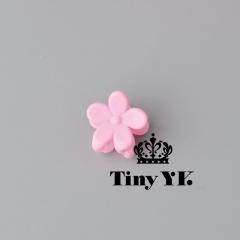 Fashion Baby Girls Small Hair Claw Cute Candy Color flower Hair Jaw Clip Children Hair Accessories 1 6pcs