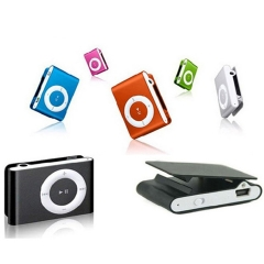 Portable MP3 player Mini Clip MP3 Player waterproof sport mp3 music player walkman rose red a