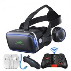 casque vr virtual reality glasses 3 d 3d goggles helmet headset for smart phone VR glasses