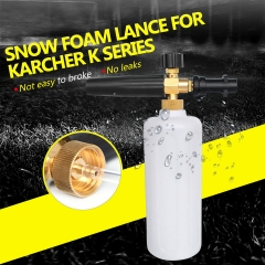 High Pressure Snow Foam Lance Soap Foamer Adjustable Foam Nozzle Foam Generator Car Washer