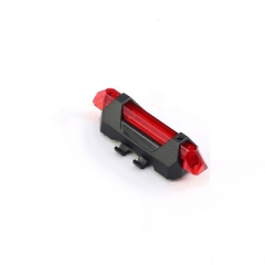 Bike light Rechargeable LED Taillight Rear Tail Safety Warning Cycling light Portable Flash Light red kj4 a