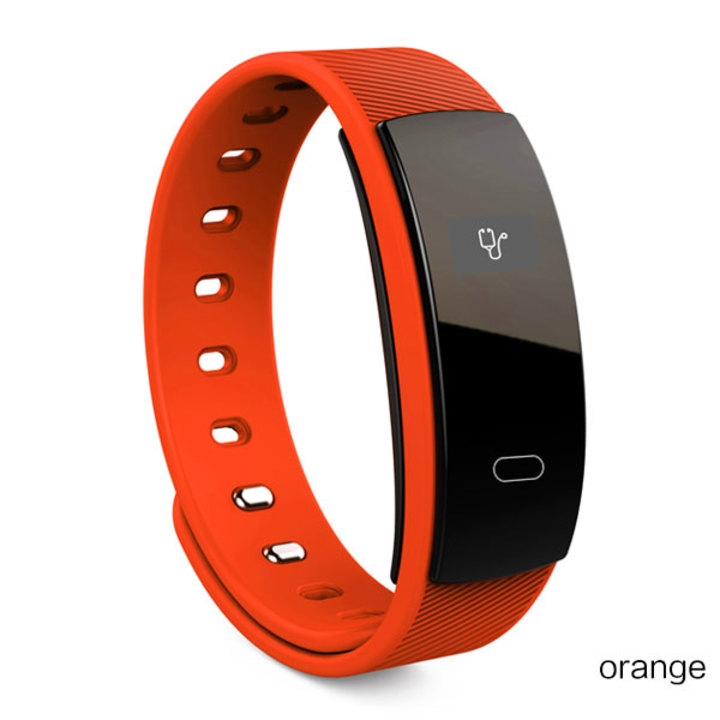 Smart watches brand bracelet wristband bluetooth heart rate message reminder Sleep Monitoring red