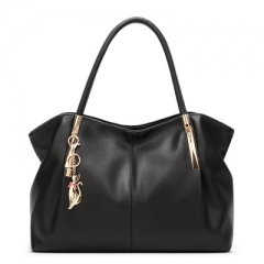 The new fashion in Europe and the female bag shoulder bag ms his laptop bag Women Bag Handbags black 1