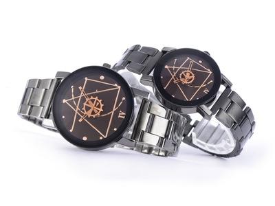 Luxury Watch Fashion Stainless Steel Watch for Man Quartz Analog Wrist Watch Orologio Uomo Hot Sales white