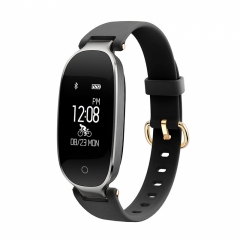 Fashion S3 Bluetooth Waterproof Smart Watch Heart Rate Monitor Fitness Tracker Smartwatch Clock black