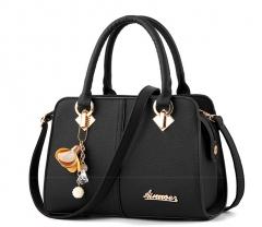 Female bag handbag inclined shoulder bag of new fund of autumn winters single shoulder bag handbag black a