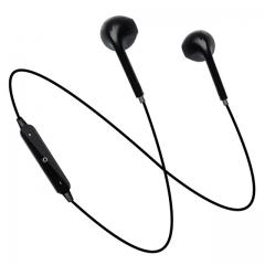 S6 Wireless Bluetooth Headphone Earphone headset for phone Earphone Headphones CSR Bluetooth Sports black