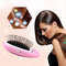 Portable Electric Ionic Hairbrush Negative Ions Hair Comb Brush Hair Modeling Styling Hairbrus pink one