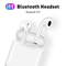 i11 tws Wireless Earphone Bluetooth 5.0 Stereo 3D Headphone TWS Mini Earbuds Headset white