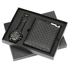 Men's gift set beautifully packaged watches + wallet set foreign trade hot creative combination set 1