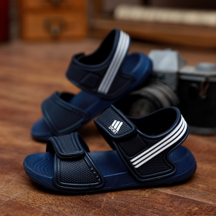 03192eb3f668 Summer new Kids Non-slip sports sandals baby boys girls Fashion Breathable  Cute Velcro beach