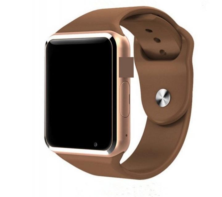 A1 smart watch card photo WeChat QQ Bluetooth wear adult sports gift Watch  golden