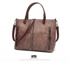Women Shoulder Bag Female all grounds for Everyday purchases All Use High Quality Ladies Handbag pink 32*25*12