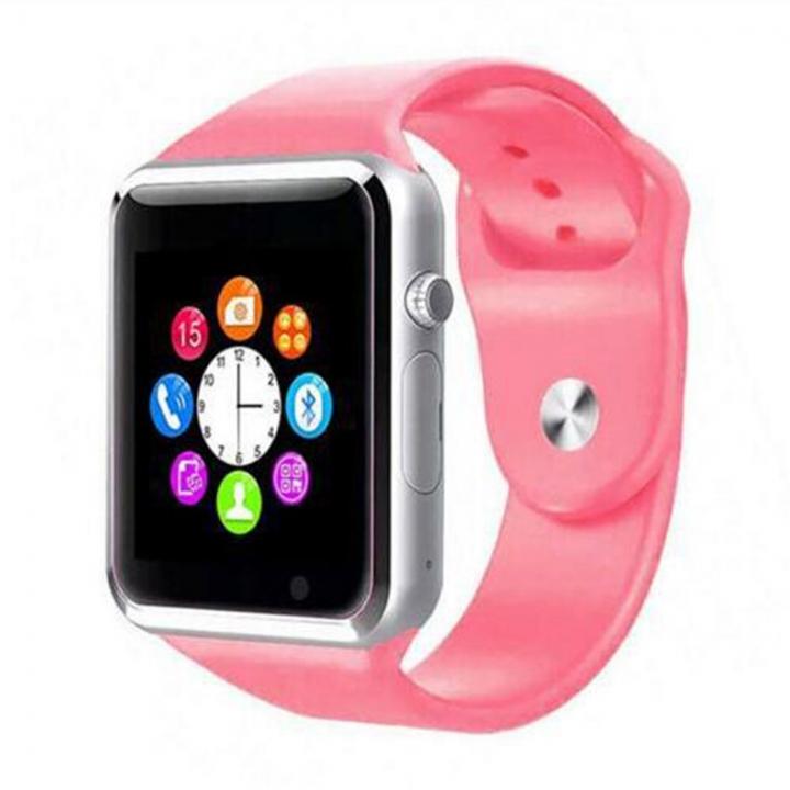 Smart Watch Bluetooth Wrist Watch, Sport Watch Camera Watch Phone SIM card Mobile Phone men red