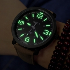 Luminous Wrist Watch Men Watch Sport Watches Luxury Men's Watch Women Clock black and black